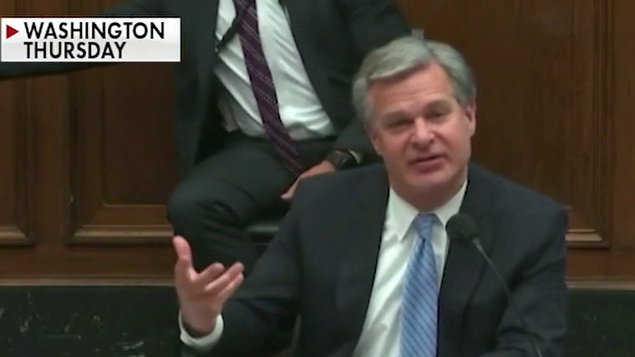 FBI Director Wray: Antifa is a real thing