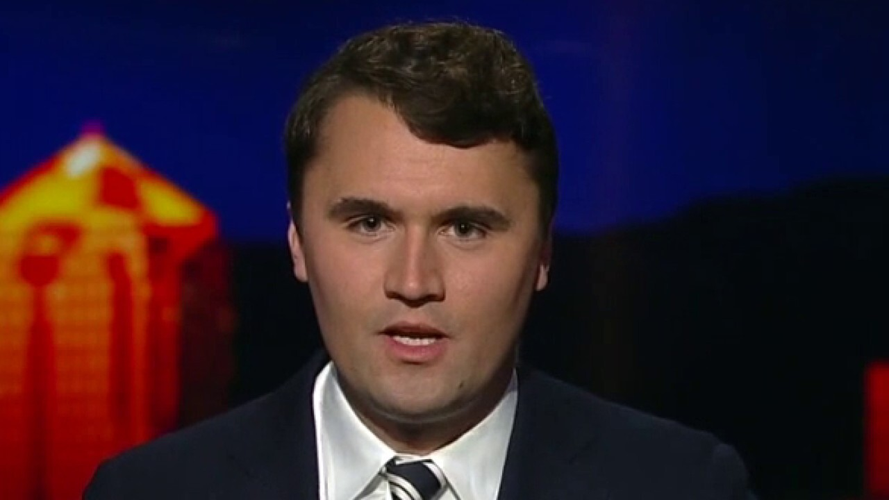Charlie Kirk discusses email he says he accidentally received from CNN