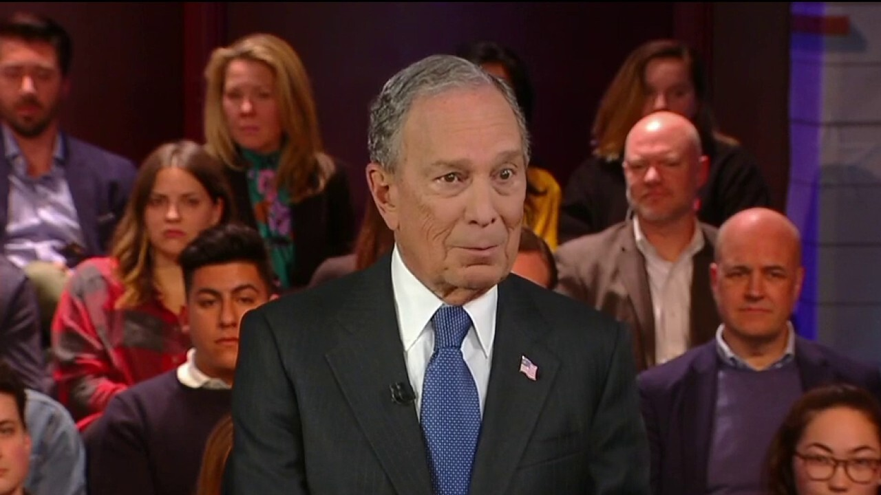 how old is mike bloomberg