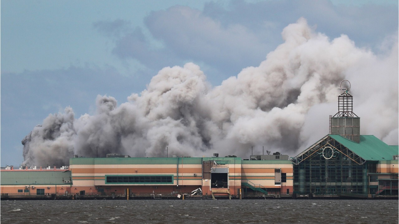 Fire erupts at chemical plant outside of Lake Charles, Louisiana