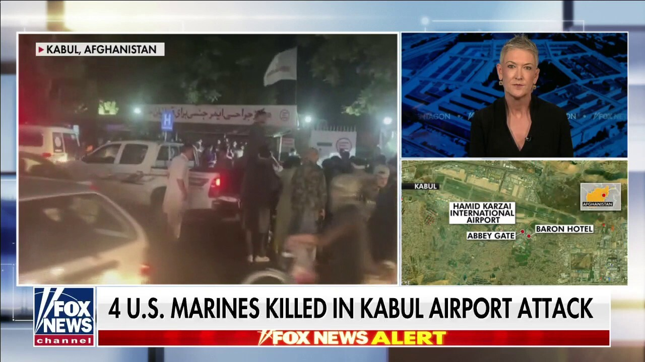 Four US Marines killed, three wounded in Kabul airport explosion: US officials