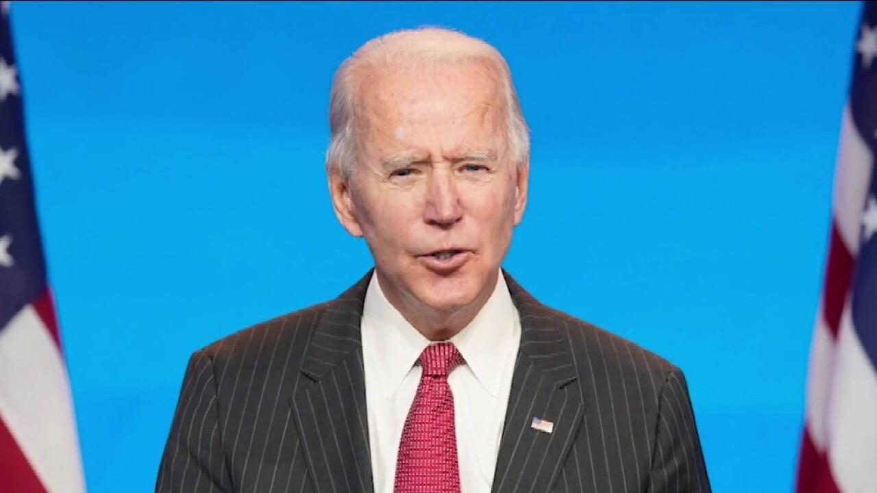 Joe Biden says he was chasing dog after shower when he broke foot