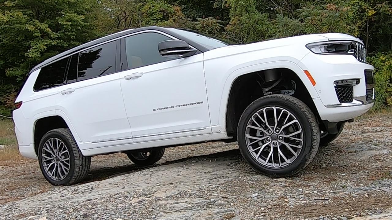 Test drive: Jeep Grand Cherokee L