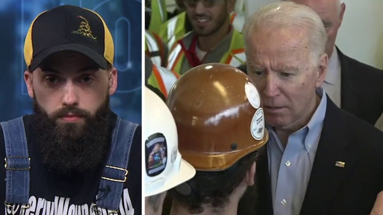 Michigan voter who Biden swore at speaks out on 'Fox & Friends'