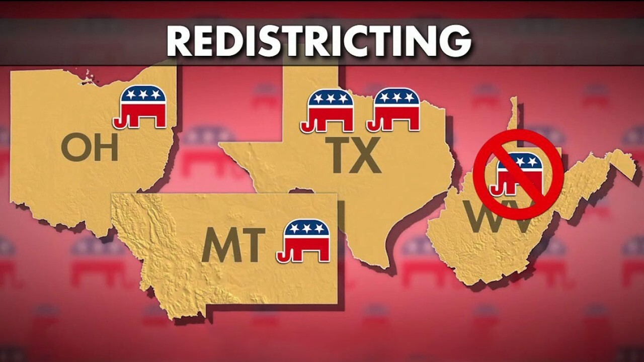 Redistricting could give Republicans control of the House in 2022