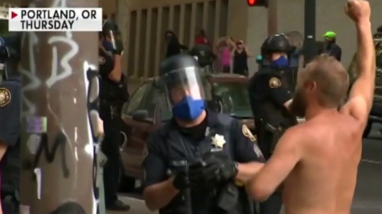Law enforcement officials accused of questionable tactics in Portland