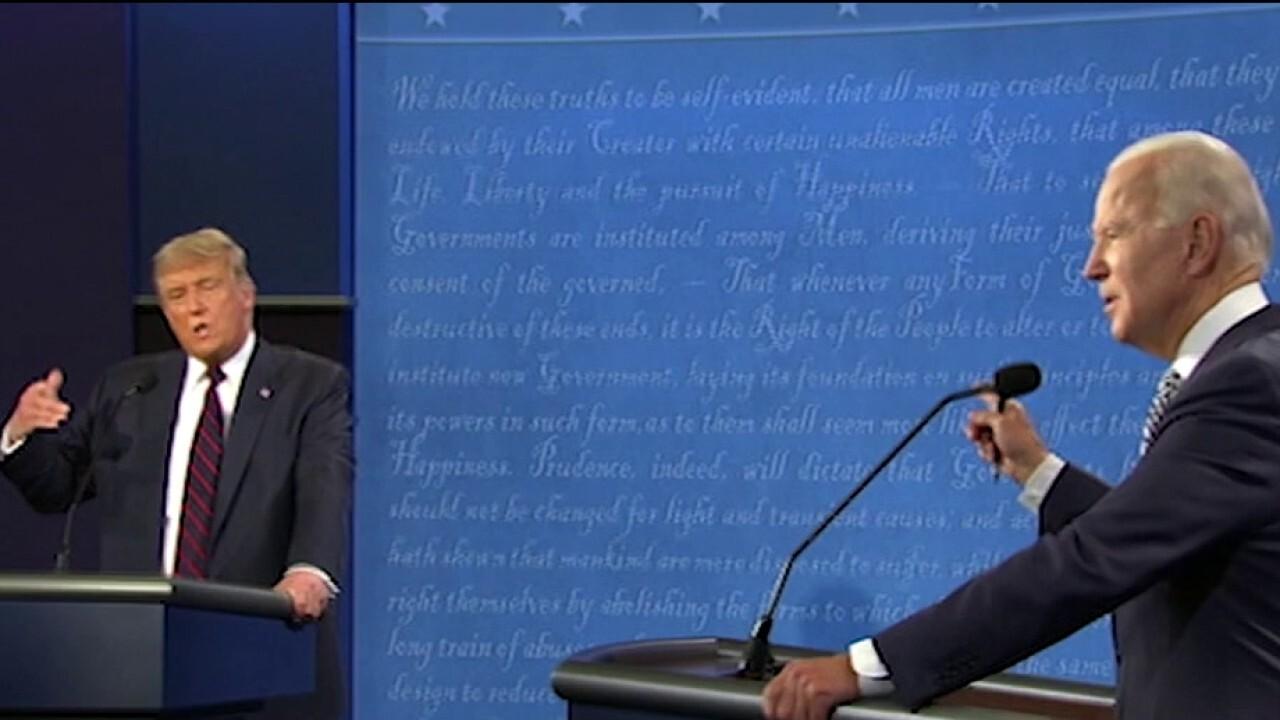 David Bossie: Trump clearly defeats Biden in first presidential debate