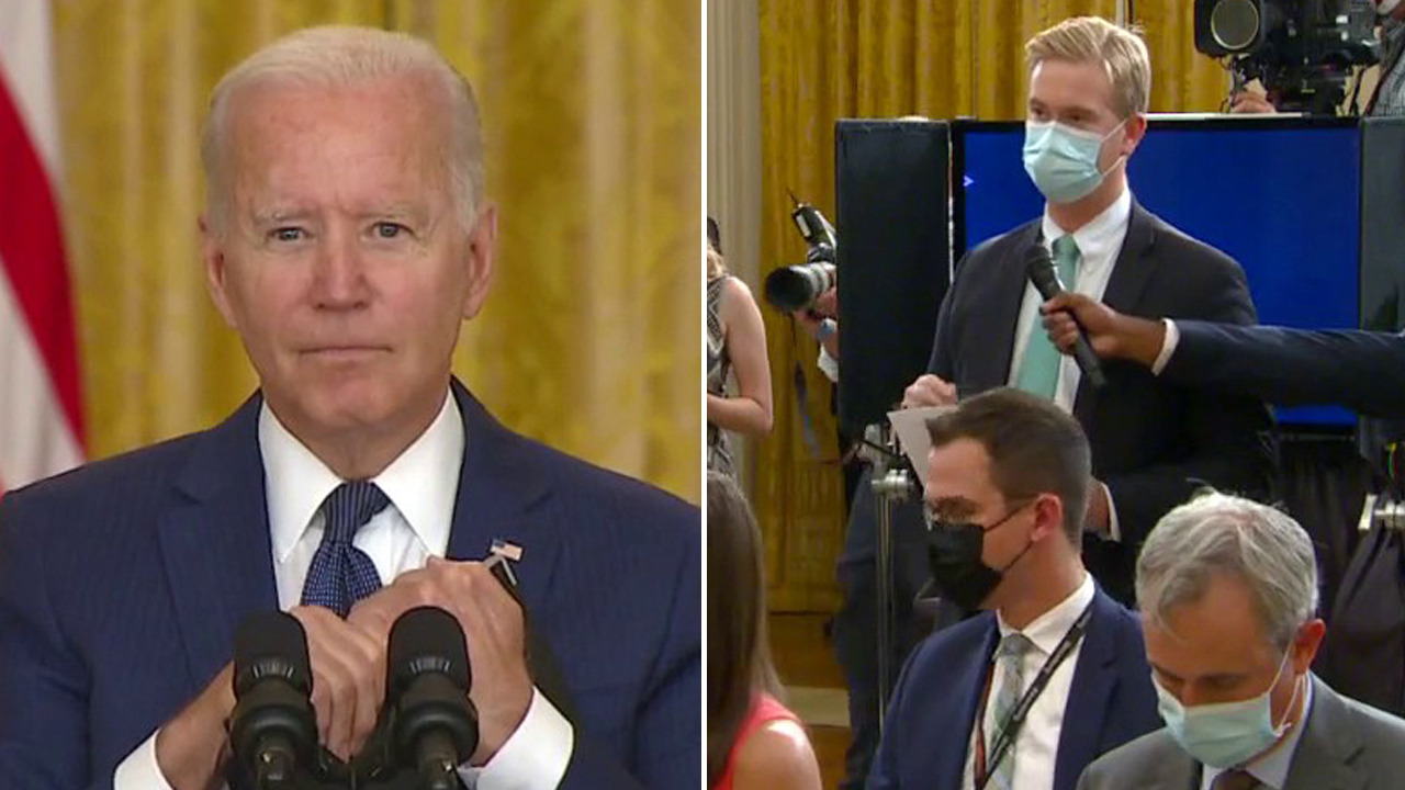 Biden defends Afghanistan withdrawal strategy after terror attacks