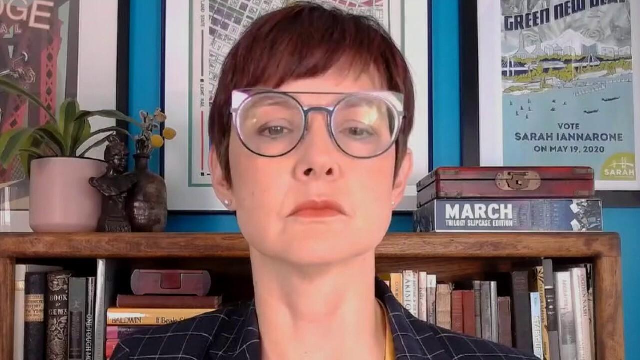 Portland mayoral candidate Sarah Iannarone declares she supports Antifa
