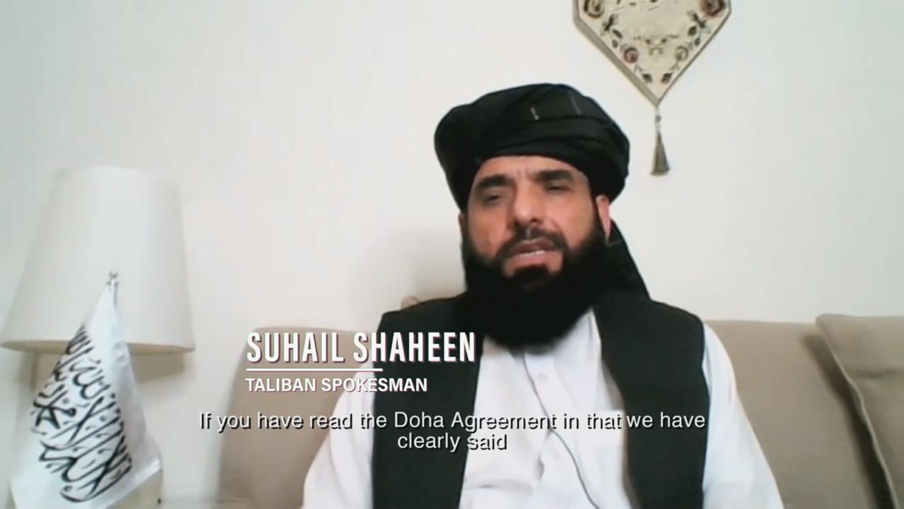 Taliban spokesman: We condemn killing of civilians by any entity, group