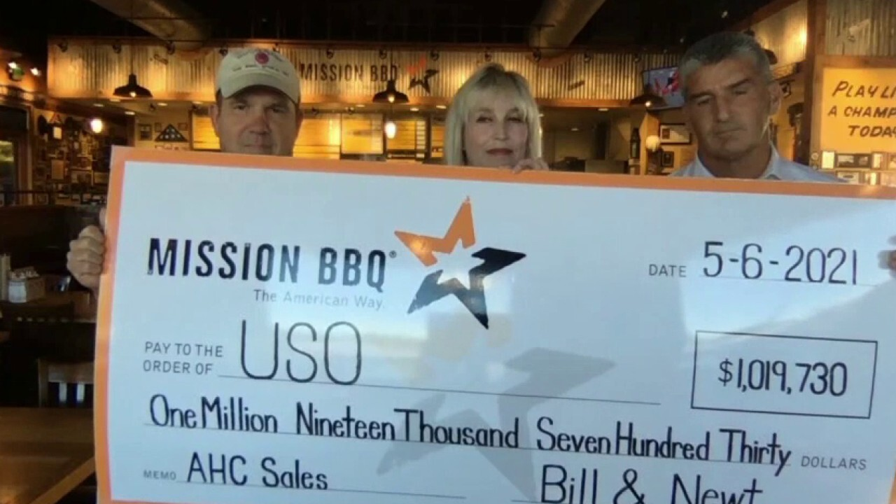 Mission BBQ surprises USO with $1M donation