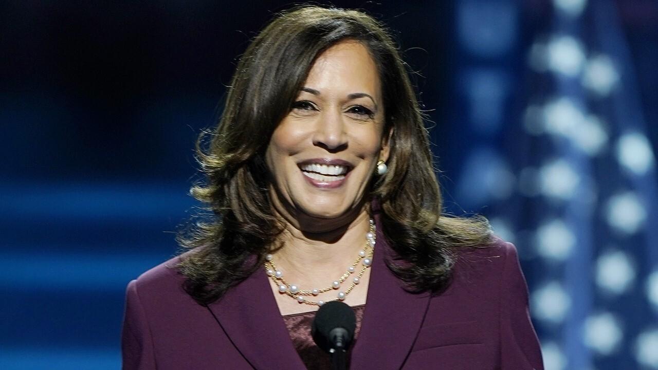 Kamala Harris makes history accepting VP nomination