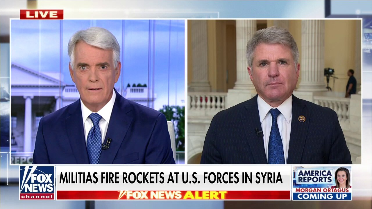 Militias fire rockets at US forces in Syria following Biden's airstrikes