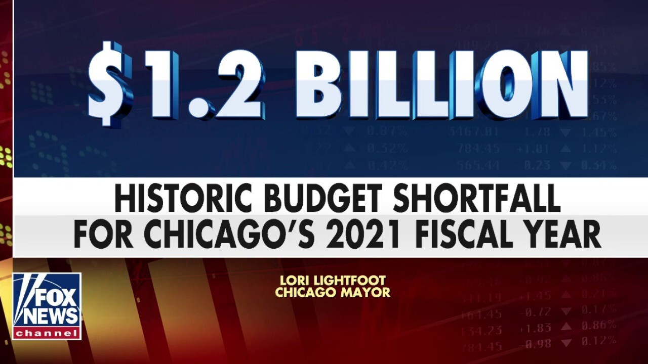 Chicago faces a record $  1.2 billion shortfall