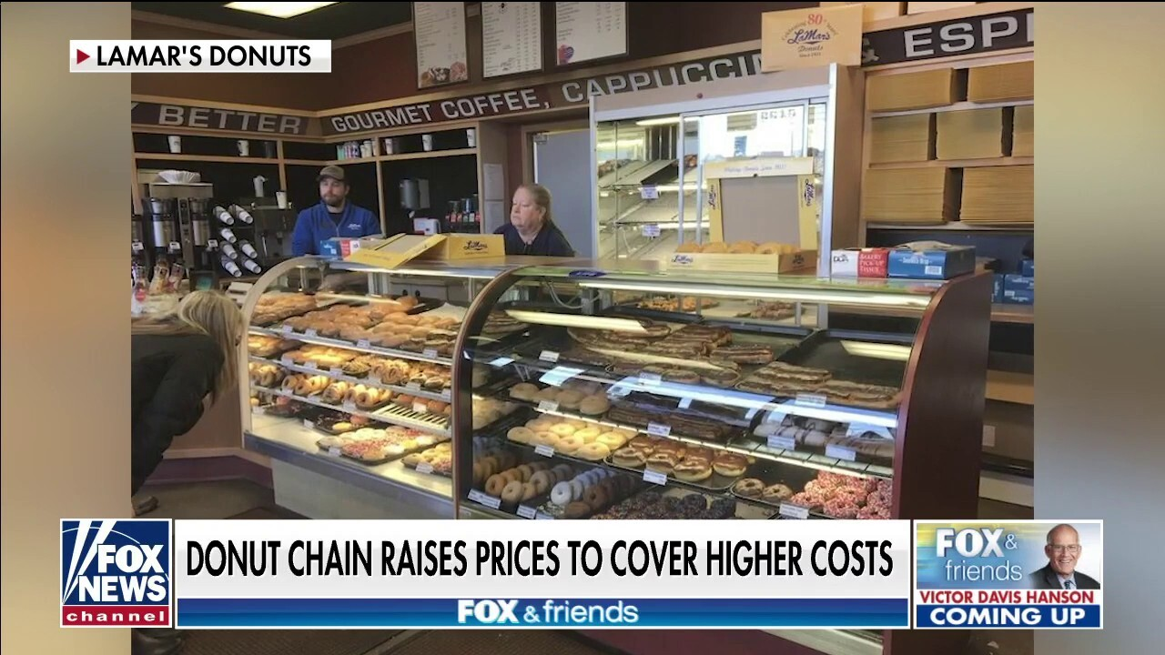 Donut shop raises prices to offset costs and labor shortages