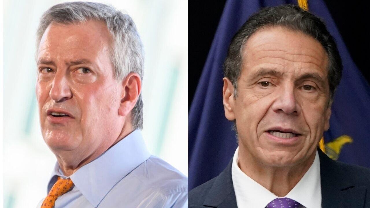 New York leaders feud over coronavirus vaccine distribution