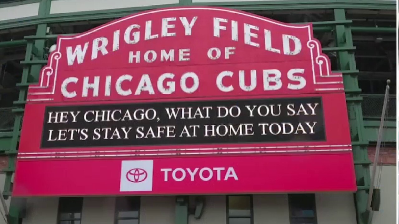 Wrigley Field transforms to help Chicago fight COVID-19