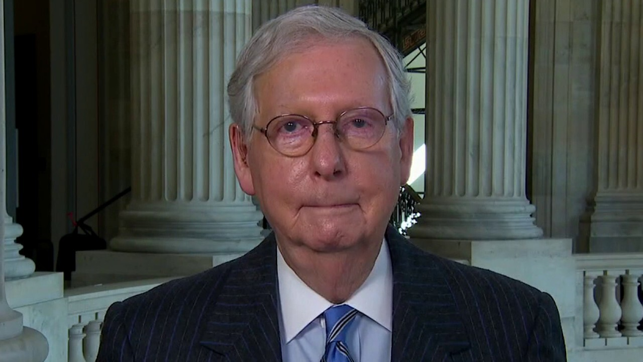 McConnell on Biden's court commission plan: 'Court packing ought to be completely unacceptable'