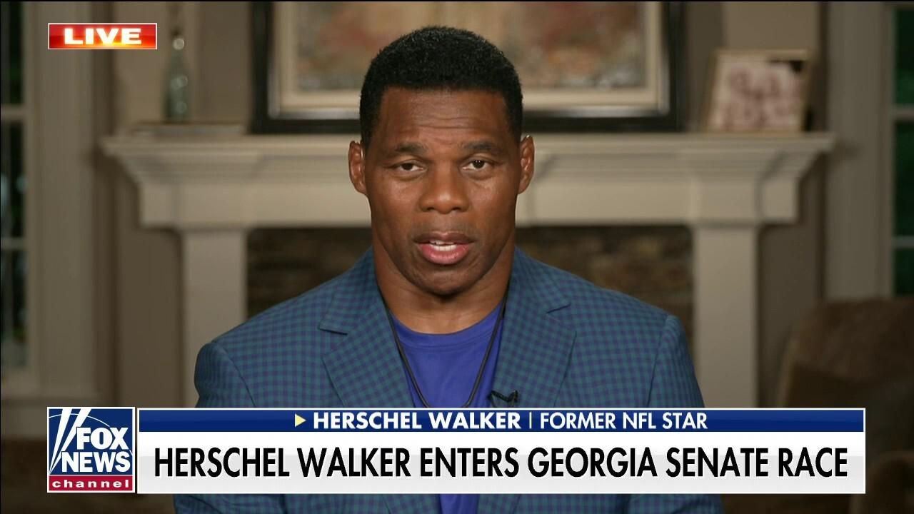 Former NFL star Herschel Walker on entering Georgia Senate race