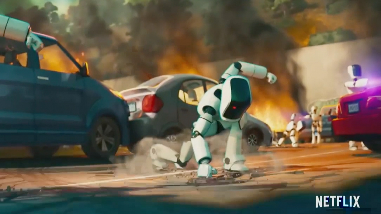 Robots are taking over Netflix Friday in new animated film 'The Mitchells vs. The Machines'
