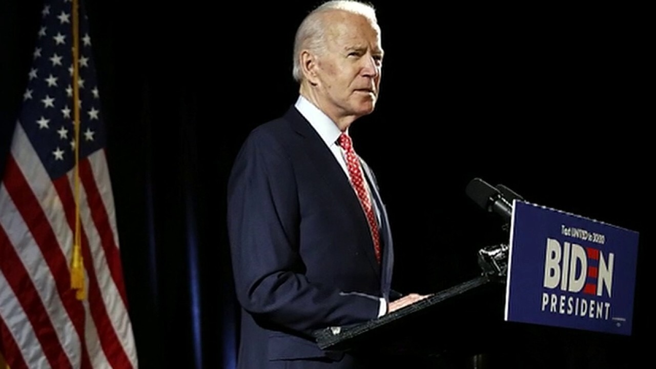 DNC chair defends Biden, says sexual assault allegations would have surfaced during vice presidential vetting