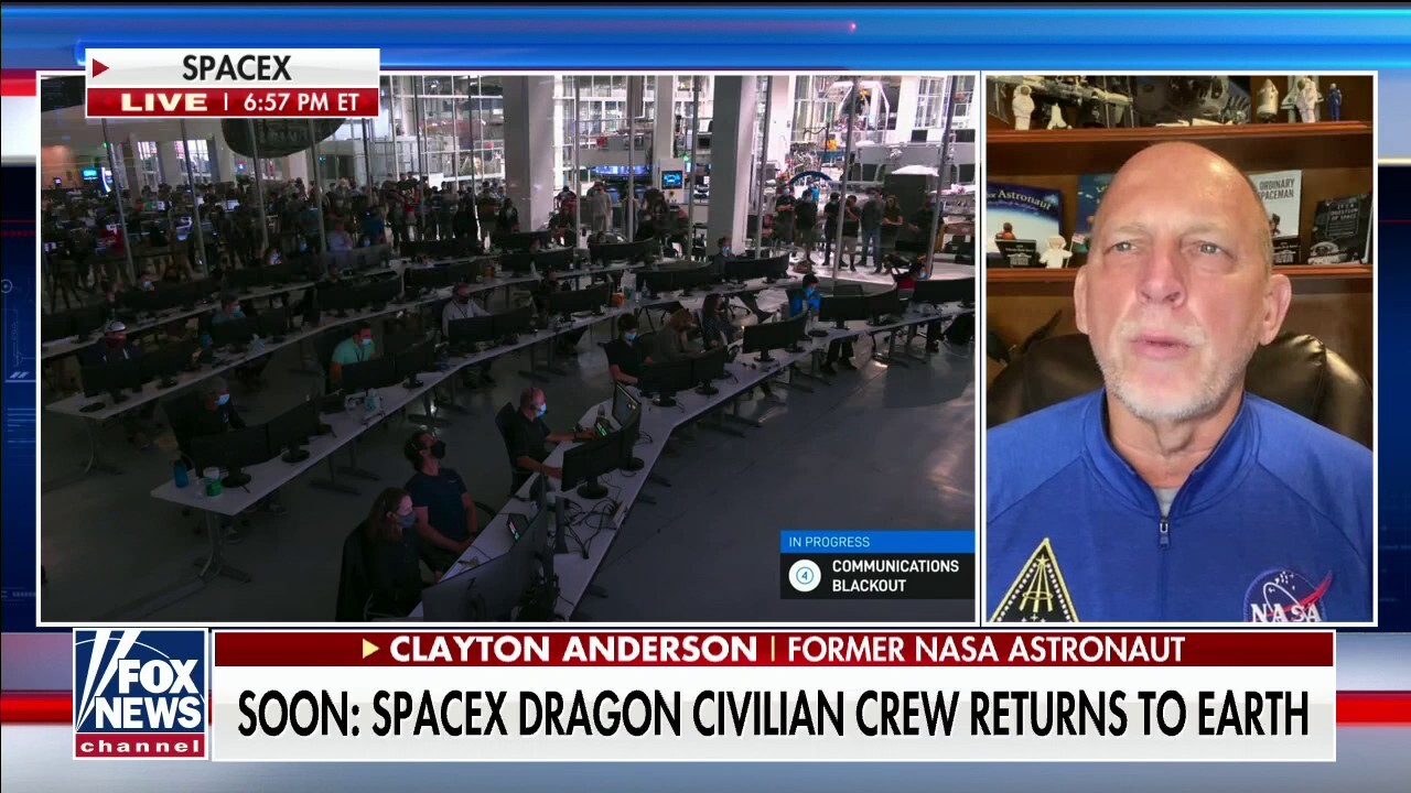 SpaceX Dragon civilian crew returns to Earth in first all tourism flight