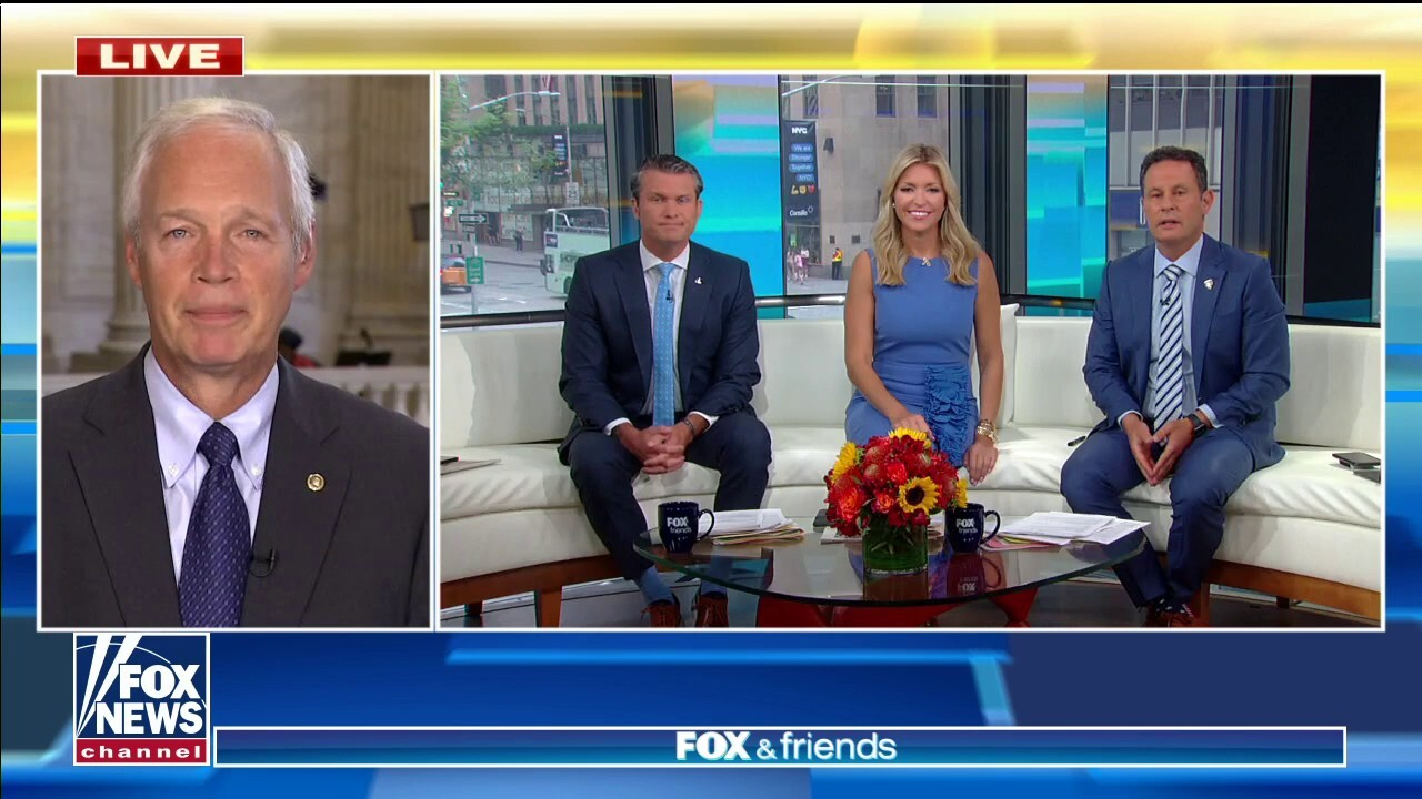 Sen. Ron Johnson: Biden has been aided by the media covering for him over border crisis