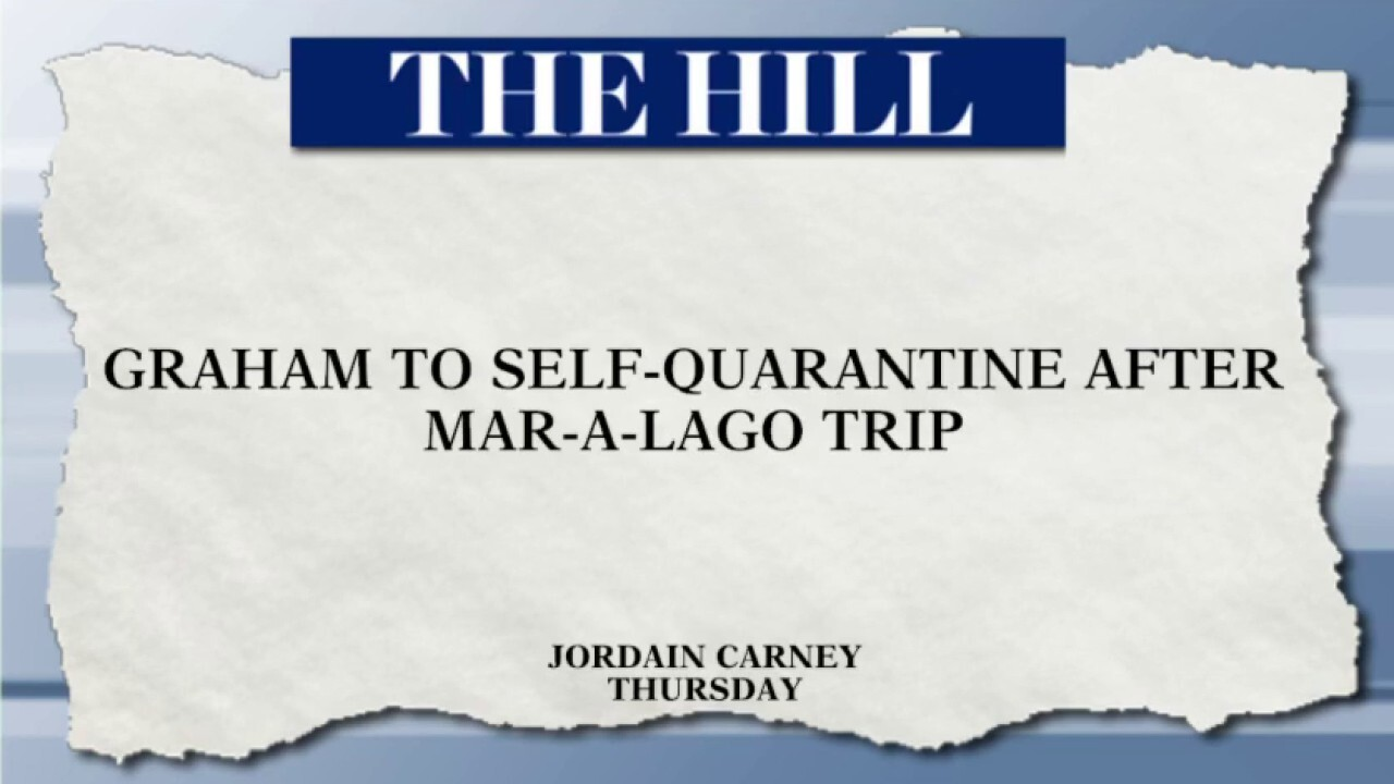 Sen. Graham calls into 'Hannity' from self-quarantine