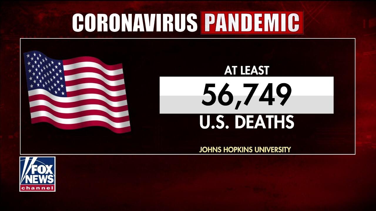 Coronavirus model now predicts more U.S. deaths
