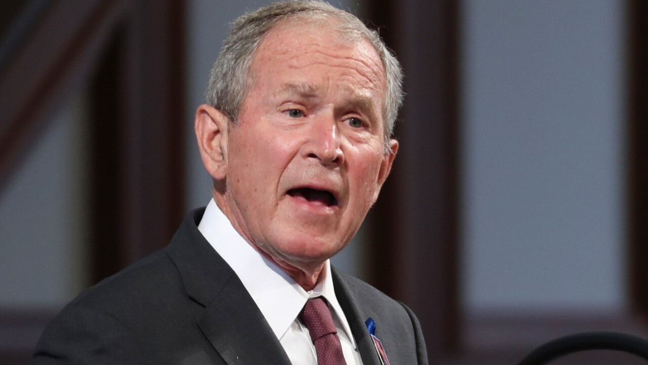 George Bush reveals who he voted for in 2020