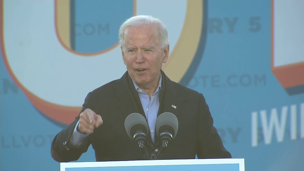 Biden: If Dems win in Georgia, '$2,000 checks will go out the door'