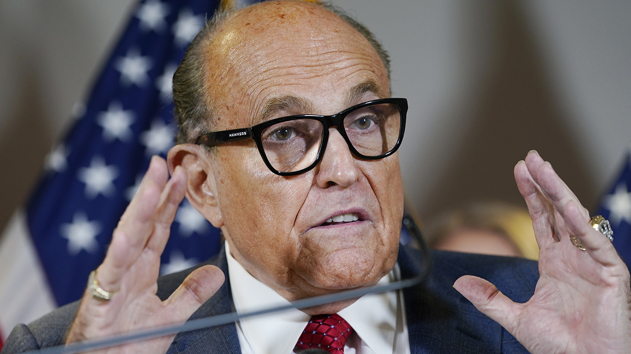 Giuliani: Detroit, Philadelphia controlled by Democrats, they can get away with anything they want