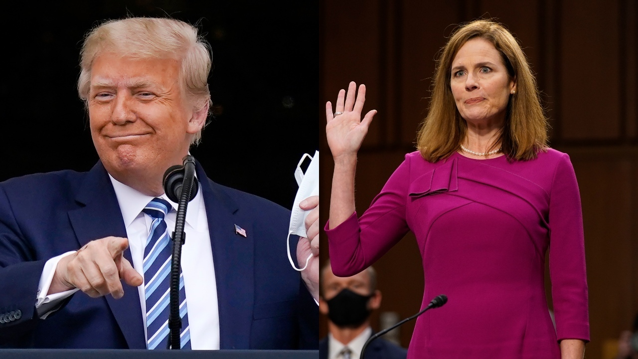 Amy Coney Barrett has 'become a major star,' people love her: Trump