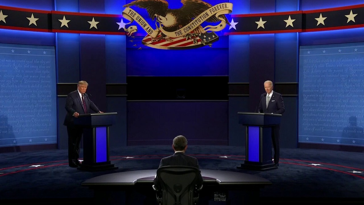 'Fox News Sunday' host Chris Wallace moderates the first debate of the 2020 general election.