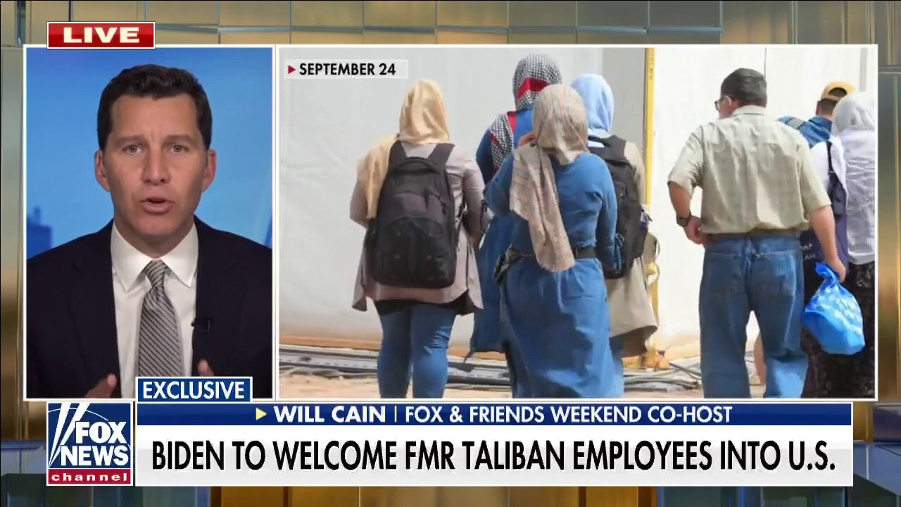 Fox News exclusive: White House to welcome former Taliban workers into US