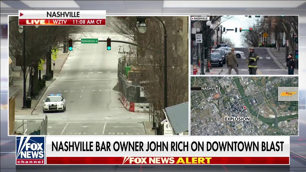 Fox Nation host, Nashville native John Rich describes area hit by blast
