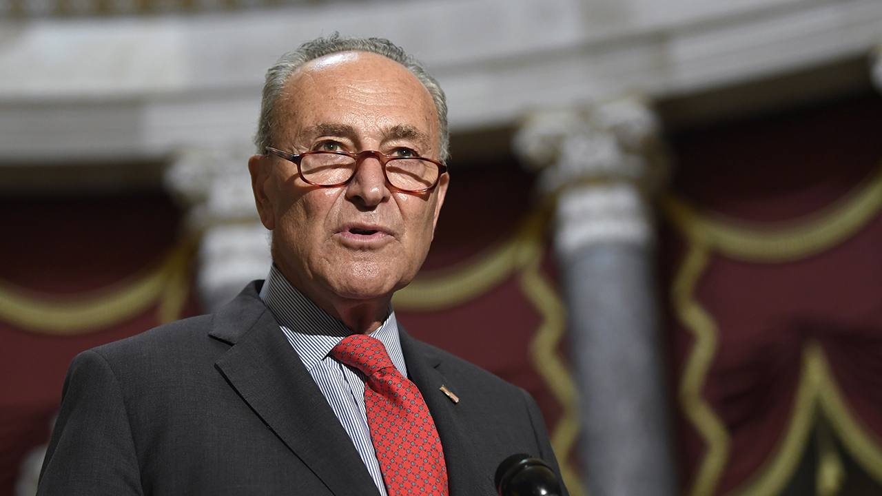 Schumer: Ginsburg vacancy should not be filled until 'we have a new president'