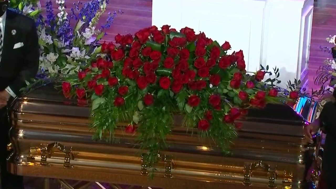 George Floyd's family, invited guests gather at memorial service in Minneapolis