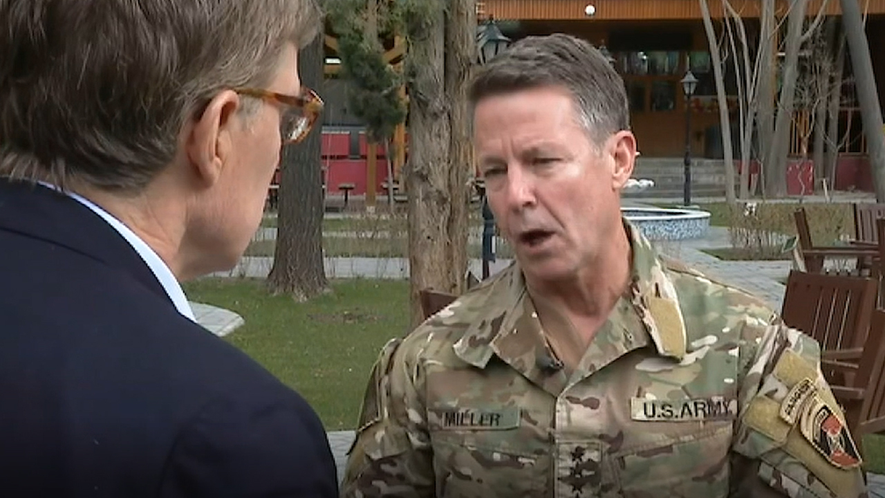 Web Exclusive: Greg Palkot speaks with U.S. general about the peace deal in Afghanistan