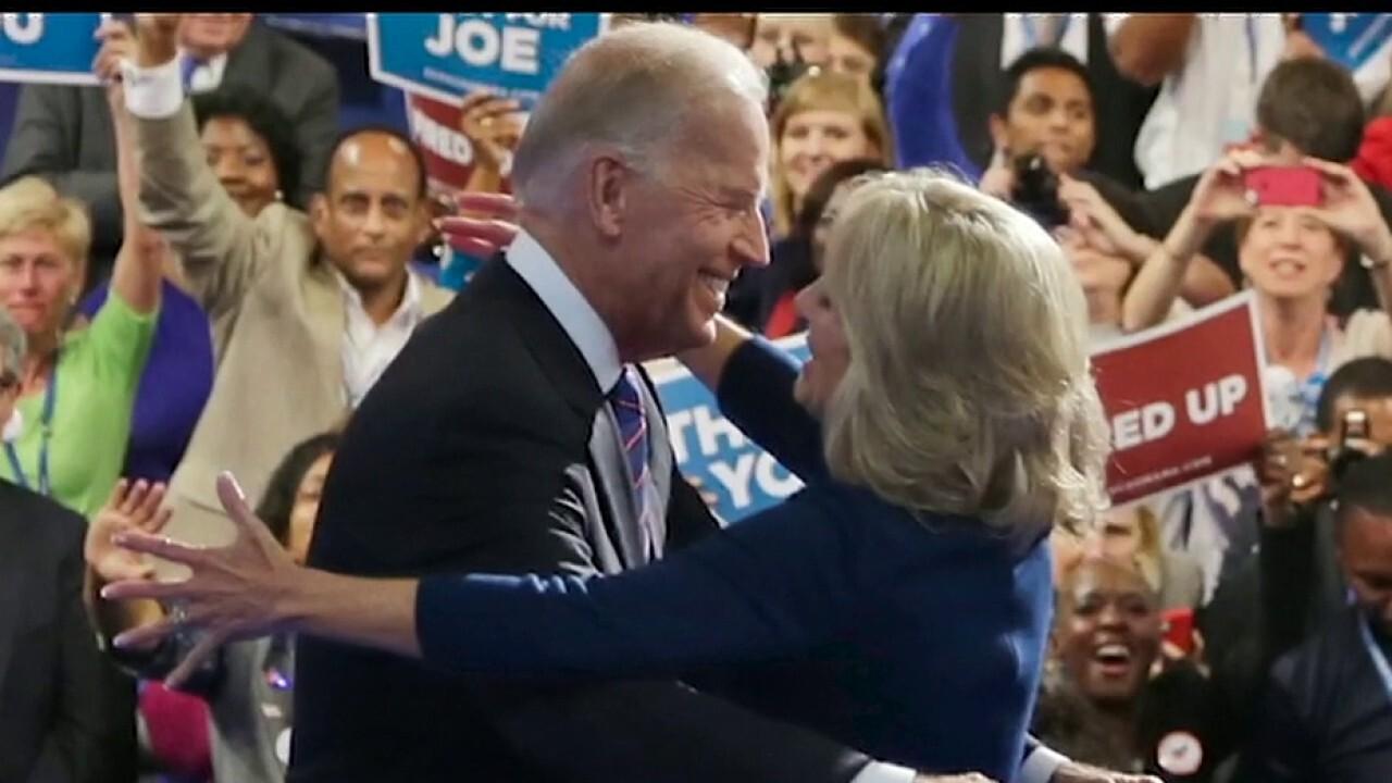 Jill Biden calls her husband a moderate, is he?
