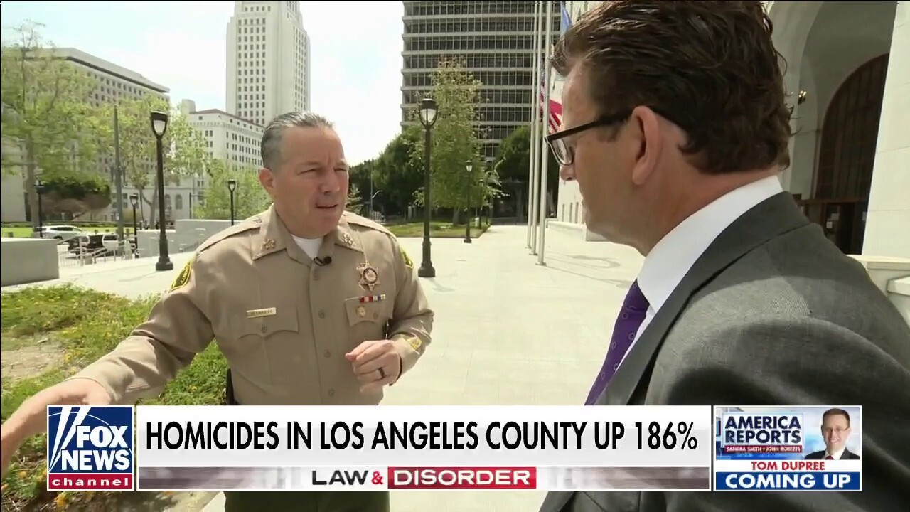 Violent crime in Los Angeles rising at rapid pace, sheriff's statistics show