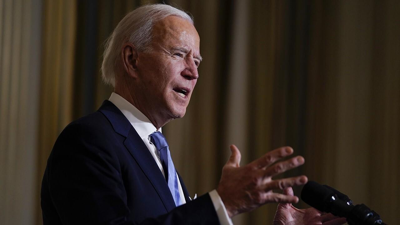 Media debate Biden's unity call