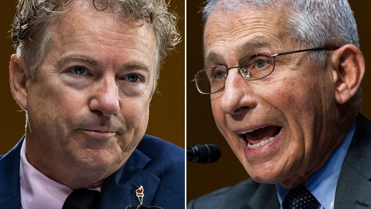 Sen. Paul spars with Dr. Fauci over NIH funding