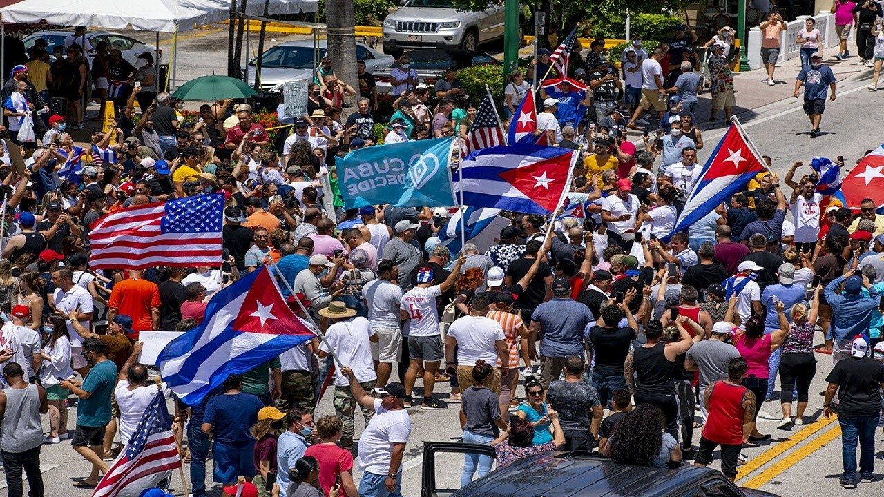 Jimmy Failla: Cuba protests and the American flag – why are Dems so  clueless about what it represents? | Fox News