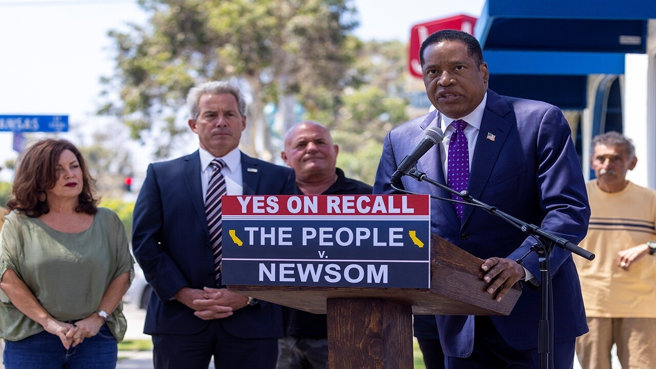 California Democrat supports Larry Elder in California recall election