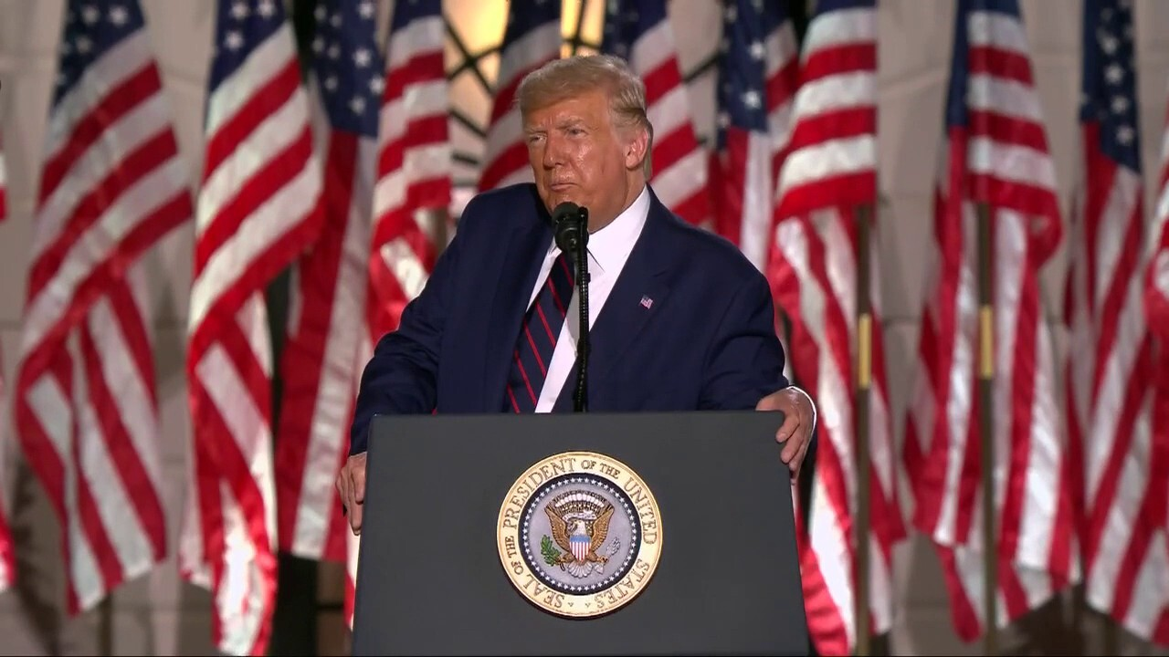 Brit Hume says President Trump's RNC speech was a little flat