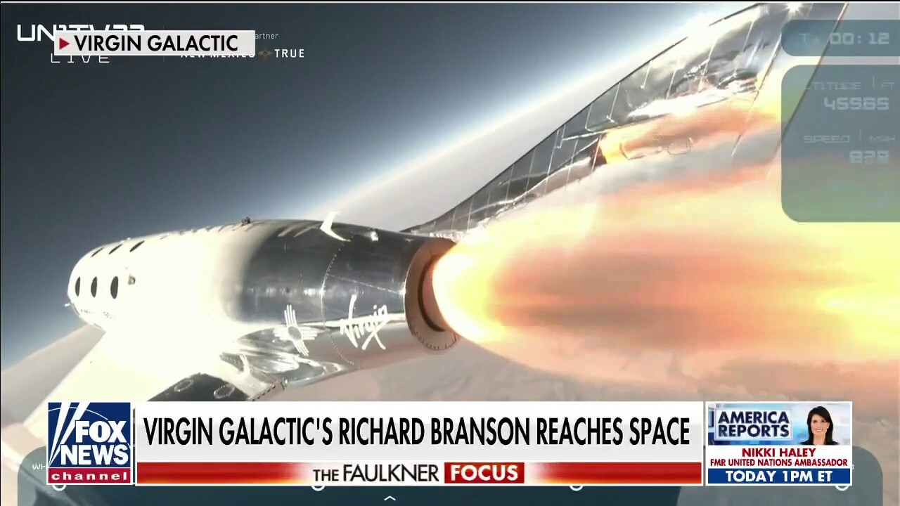 Richard Branson becomes first privately-owned rocket company owner to reach space