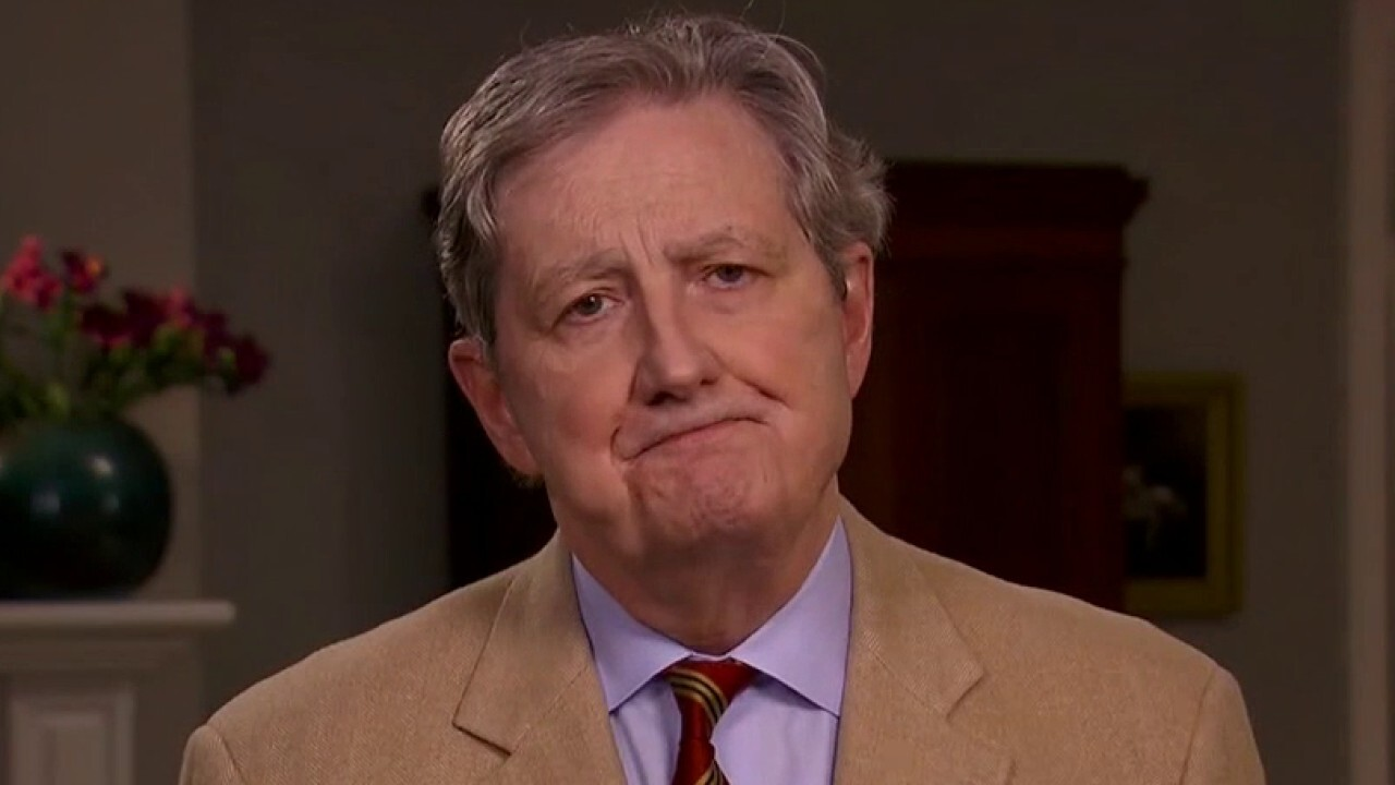 Sen. John Kennedy says next COVID relief package will not be Nancy Pelosi's bill