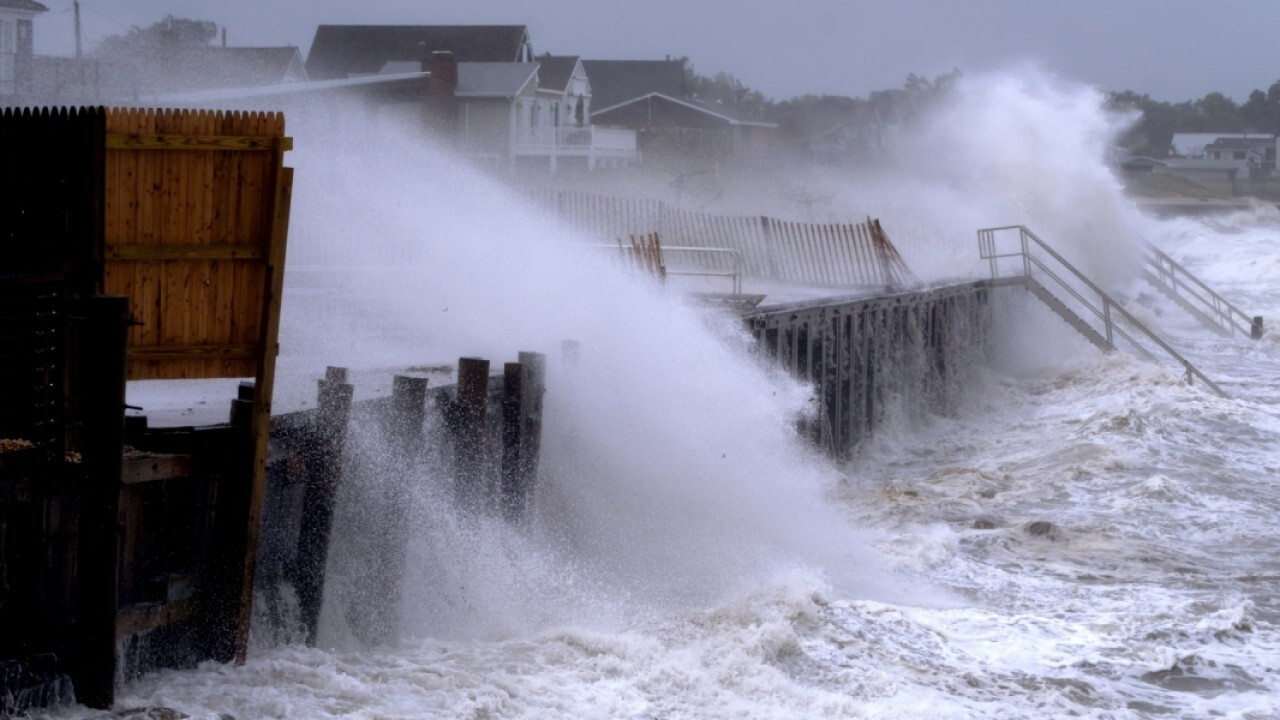 Tropical storm Henri drenches northeast after making landfall