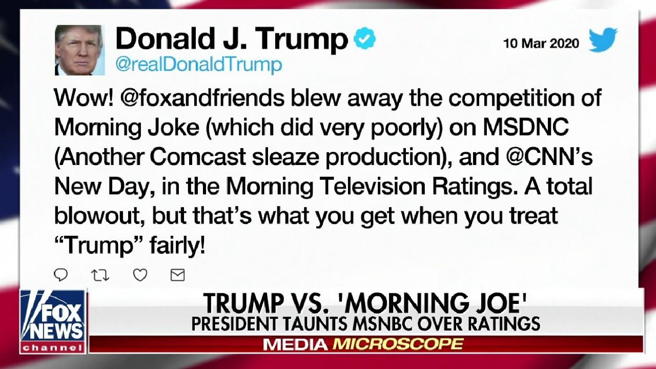 Trump vs. 'Morning Joe'